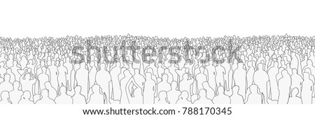 illustration of large mass of