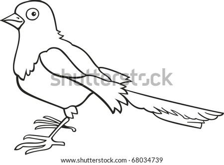 Coloring Book Bird Animal Vector - Download Free Vector Art, Stock ...