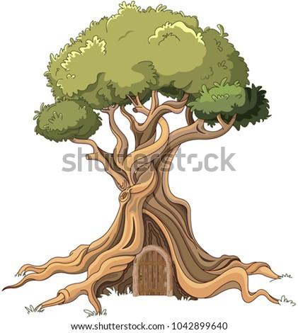 illustration of majestic tree