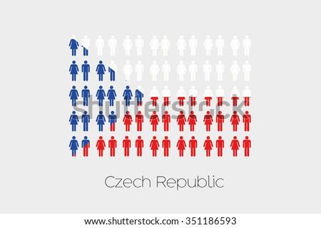 illustration of men and women