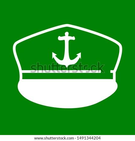 illustration of nakoda hat, sticker,tshirt print, vector illustration Stok fotoğraf ©