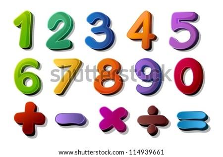 Math Symbols Colorful Vector Sets Download Free Vector Art Stock