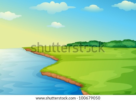 illustration of open grass
