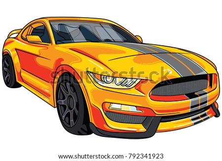 illustration of orange  sport