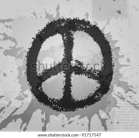 Peace Sign Vector - Download Free Vectors, Clipart Graphics