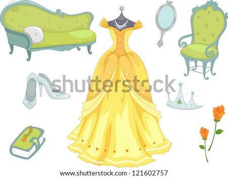 illustration of princess