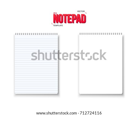 Notepad Vector Pack