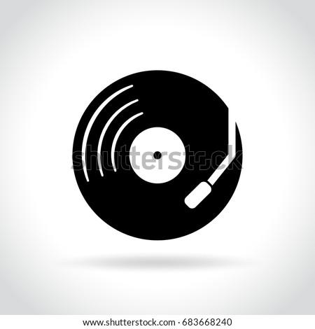 illustration of retro music