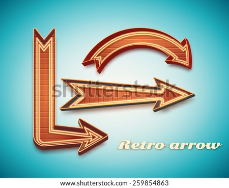 Illustration Of Retro Vintage Sign