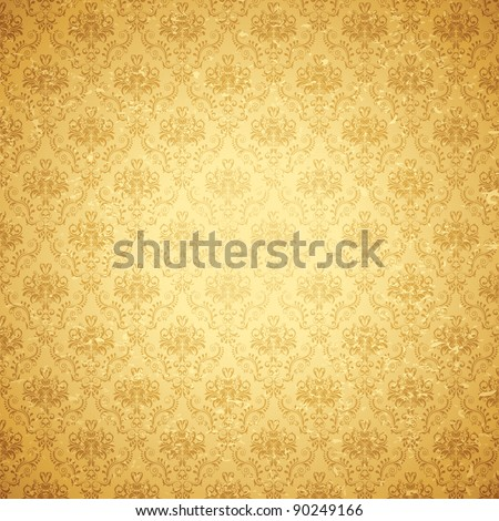 stock-vector-illustration-of-seamless-floral-background-in-vintage-style