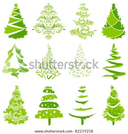 Go Back > Gallery For > Christmas Tree Illustration Vector