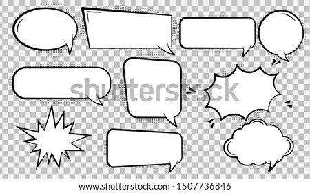 Illustration of spaces for text input. Сток-фото ©