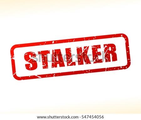 illustration of stalker text
