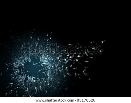 illustration of the broken