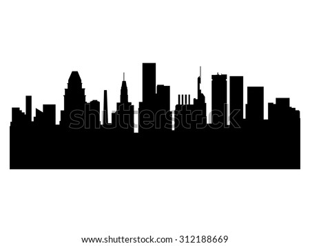 illustration of the city