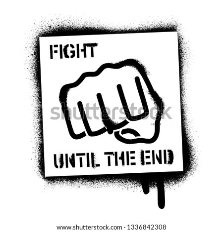 illustration of the fist and