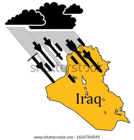 illustration of the war in iraq