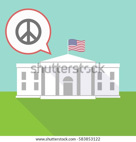 illustration of the white house