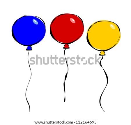 cartoon balloon download free vector art stock graphics images rh vecteezy com cartoon balloons png cartoon balloons png