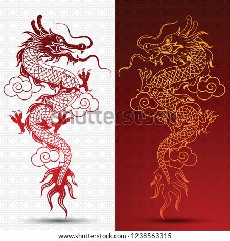 illustration of traditional