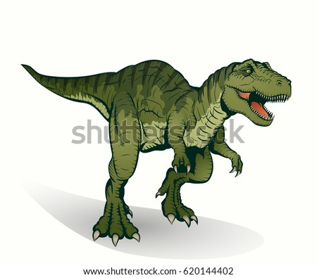 illustration of tyrannosaurus