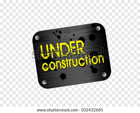 illustration of under construction background