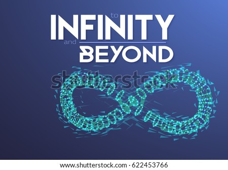 illustration of vector infinity