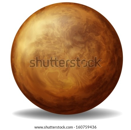 illustration of venus on a
