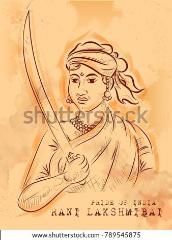 illustration of vintage indian