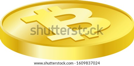 Illustration of virtual currency bitcoin. Virtual currency, or virtual currency, is a currency distributed on a network.