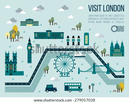 illustration of visit london