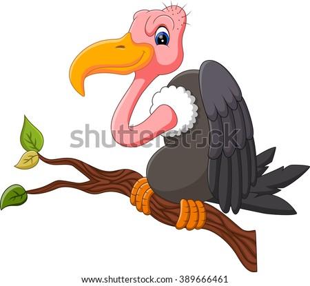 illustration of Vulture cartoon