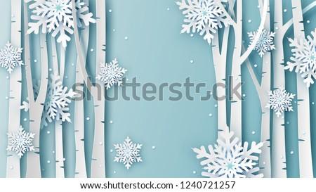 illustration of winter