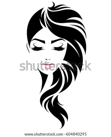 Illustration Of Women Short Hair Style Stock Photo 512599735
