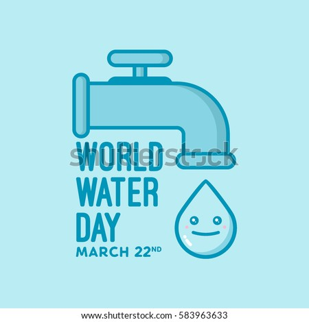 illustration of world water day