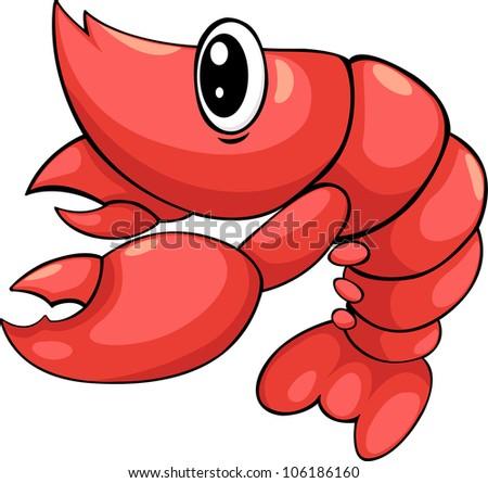 illustration Shrimp vector file