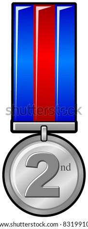 illustration stock of medal