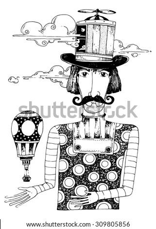 illustration the dream maker