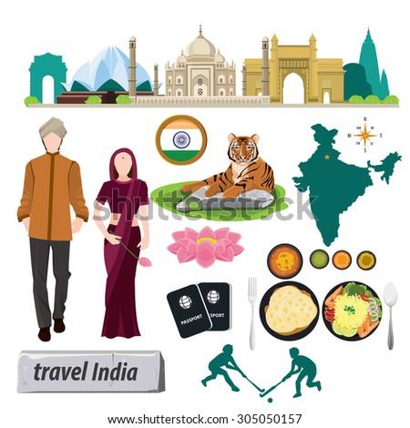 illustration travel around