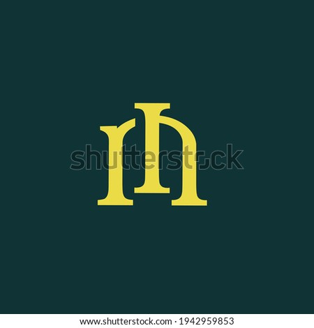 Illustration vector grapic of R I M monogram perfect for your personal or company icon or logo Photo stock ©