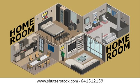 illustration vector isometric