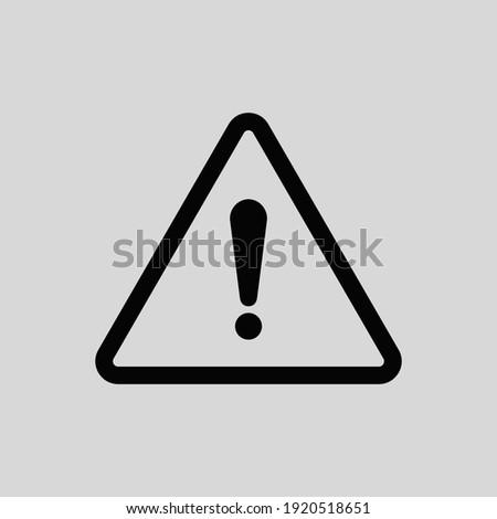 Illustration vector of accident, alert, danger, error,  warning icon