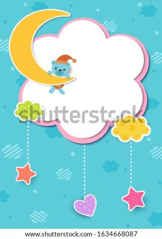 illustration vector of baby