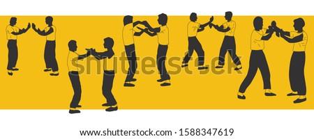 illustration vector silhouettes