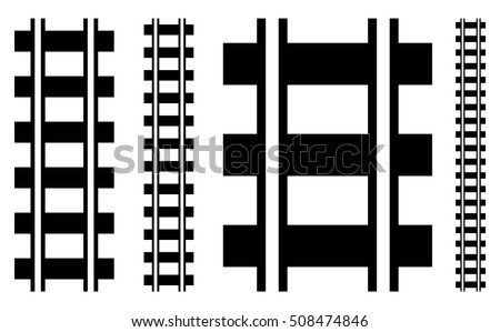 illustration w railway track
