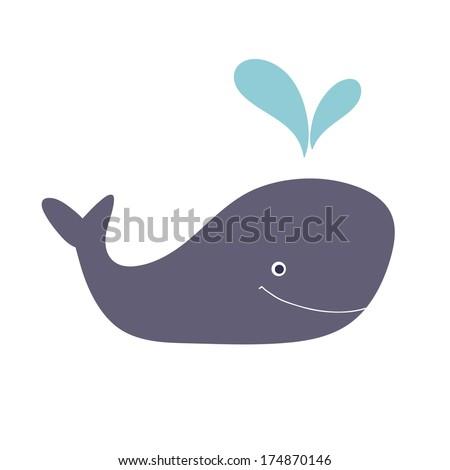 illustration whale