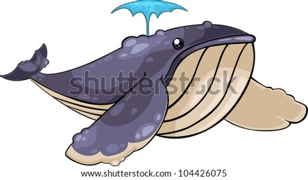 illustration Whale vector file