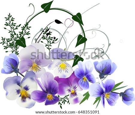 illustration with decoration