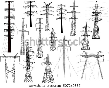 illustration with electric