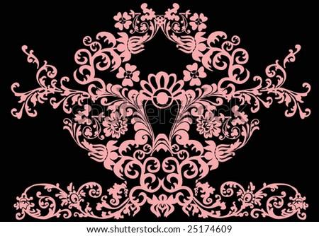 Men's Supra TK Society Black Pink Pattern,cheap supra shoes,cheap